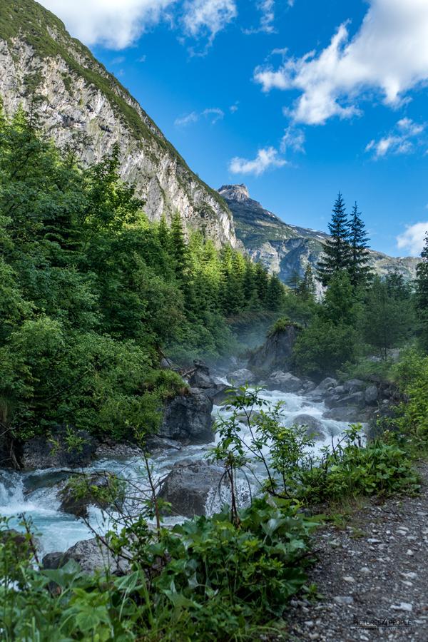Wandern 2018 in Österreich, ein Lechzufluss