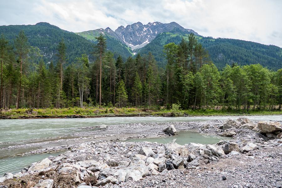 Wandern 2018 in Österreich, der Lech