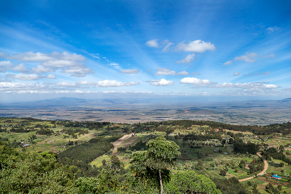 Rift Valley in kenia
