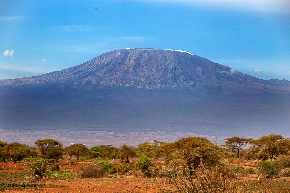 Kilimanjaro am Tag