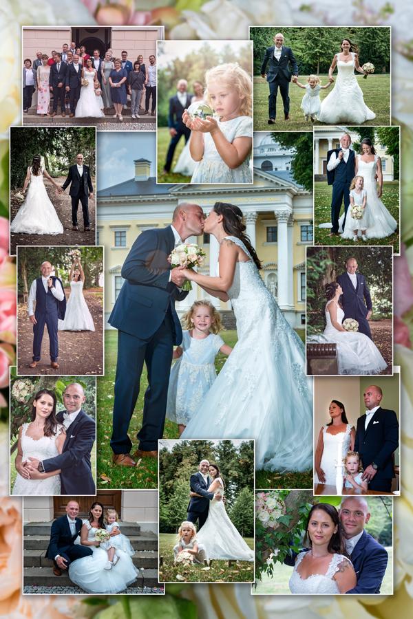 Fotograf aus Dessau; Hochzeit, Collage