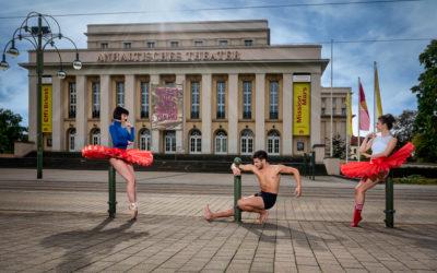 Tanz trifft Architektur / Tanz trifft Dessau