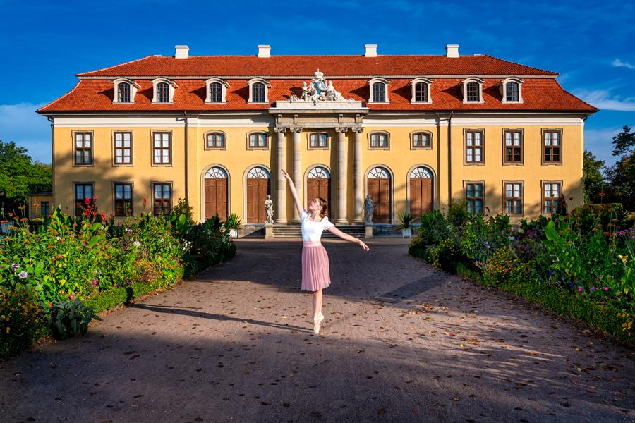#TanztrifftArchitektur #Dessau #Ballett #Mosigkau