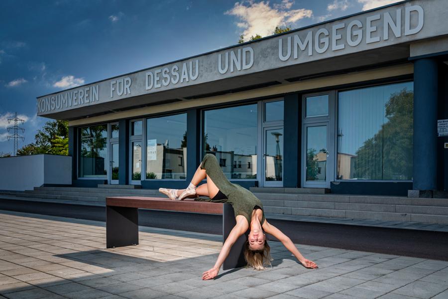 #TanztrifftArchitektur #Dessau #Ballett